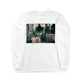 浅草散歩Tシャツ Long sleeve T-shirts