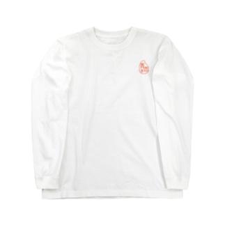 青鹿米マーク Long sleeve T-shirts