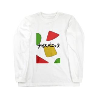 ナイスパニックロングスリーブTシャツあのパジャマと秘密のコラボTシャツ Long sleeve T-shirts