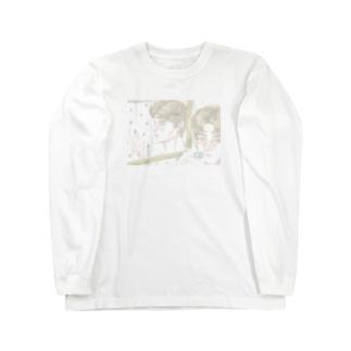 自撮り少年 Long sleeve T-shirts