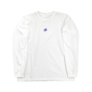 叶の満月 Long sleeve T-shirts