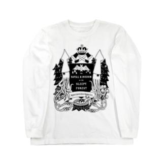 烏賊の紋章 Long sleeve T-shirts