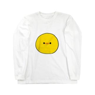 ぷにおもちSHOPのシンプルチーヨ Long sleeve T-shirts