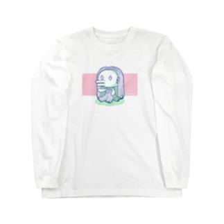 アマビエさん Long sleeve T-shirts