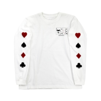 Old Maid  / black Long sleeve T-shirts