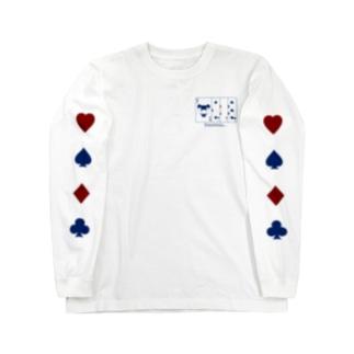 Old Maid / navy Long sleeve T-shirts