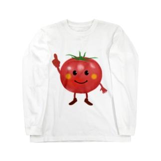 トマトちゃん Long sleeve T-shirts