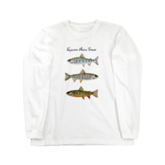 Japanese Native Trouts Long sleeve T-shirts