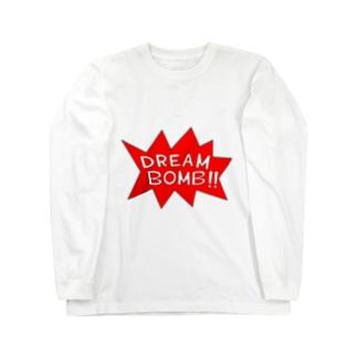 DREAM BOMB!! ユメノバクダン Long sleeve T-shirts