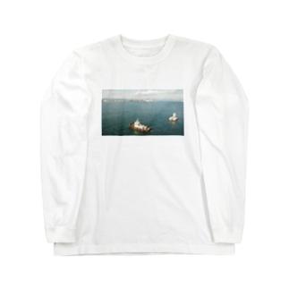 遠くの海 Long sleeve T-shirts