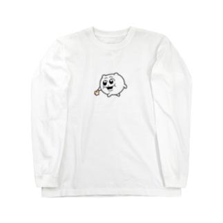 どこ連れてく気なワケ!?(ムフ…) Long sleeve T-shirts