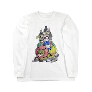 私のお城 Long sleeve T-shirts