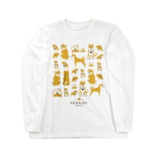 赤柴たくさん Long sleeve T-shirts