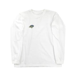 カメくん Long sleeve T-shirts