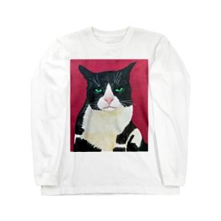 Cat 10 Long sleeve T-shirts