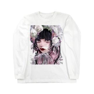 春ボンネット Long sleeve T-shirts