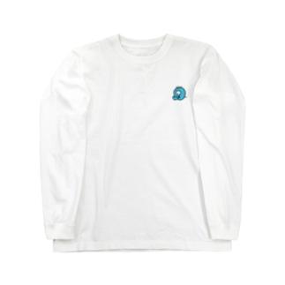 トリートメントおばけ Long sleeve T-shirts