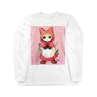 赤ずきん猫ちゃん Long sleeve T-shirts