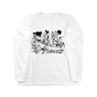 Stroke-1 Long sleeve T-shirts
