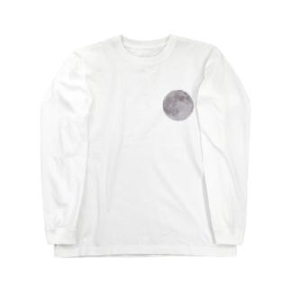 スーパームーン Long sleeve T-shirts