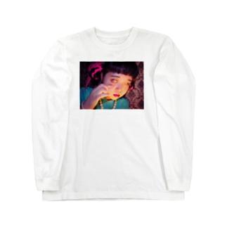 粘膜見せ Long sleeve T-shirts