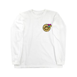 にこにこみおじるし!!! Long sleeve T-shirts