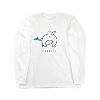 ヘンなウサギ Long sleeve T-shirts