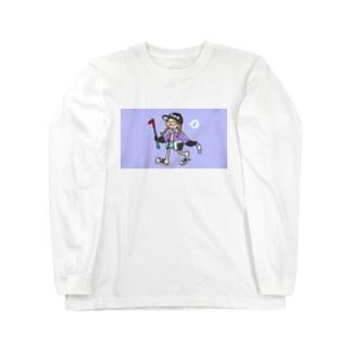 バールレディ Long sleeve T-shirts