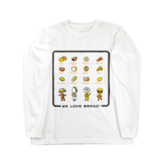 パンダイスキ! Long sleeve T-shirts