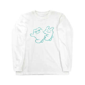 dolce dolce dolceのいっしょさん その2 Long sleeve T-shirts