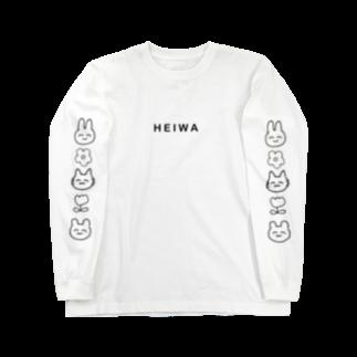 100mlqのHEIWA Long sleeve T-shirts