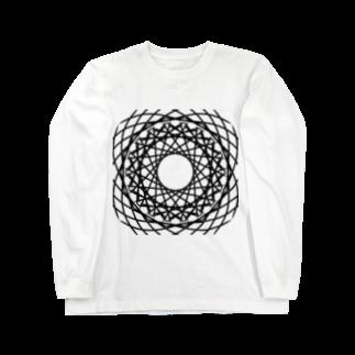 左の幾何学模様 series Long sleeve T-shirts