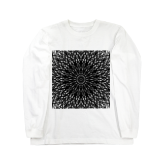 左の幾何学模様 series Long sleeve T-shirts