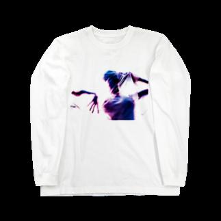 cirsiumの窒息(B) Long sleeve T-shirts
