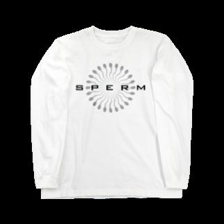booya!のSPERM Long sleeve T-shirts