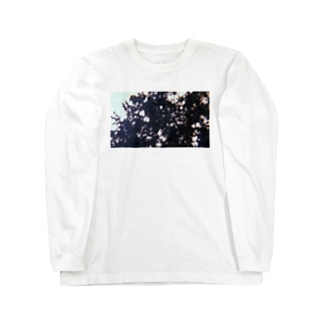 お墓まいり Long sleeve T-shirts