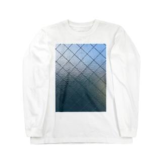 イエネコのスリガラス Long sleeve T-shirts