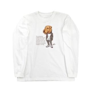 おしゃれエアデール Long sleeve T-shirts