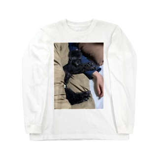 PAINTのワンチャン Long sleeve T-shirts