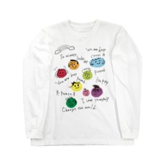 みんななかよし@Takako Long sleeve T-shirts