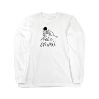 NEKO KAWAii Long sleeve T-shirts