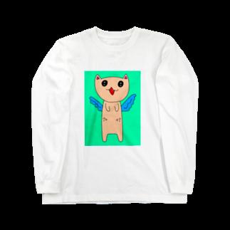 雛モゲラのアゥアゥ Long sleeve T-shirts