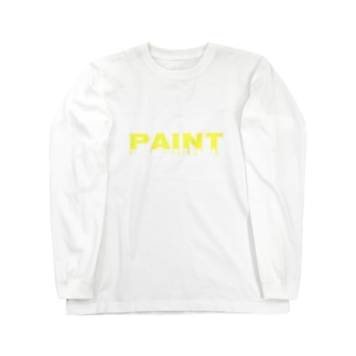 PAINTのペイント Long sleeve T-shirts