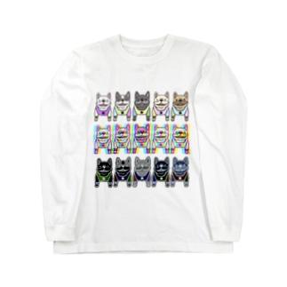 NinoJunananoKyuのフレブル☆フレブル★フレブル Long sleeve T-shirts