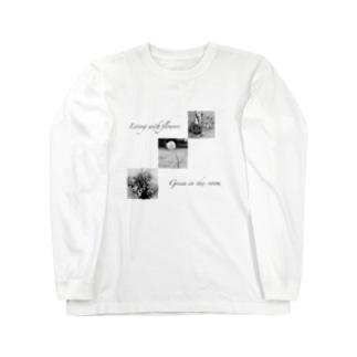 Anohanoの春のはな Long sleeve T-shirts