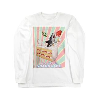 シャークケーキ Long sleeve T-shirts
