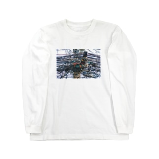 タイの引き留め具 Long sleeve T-shirts