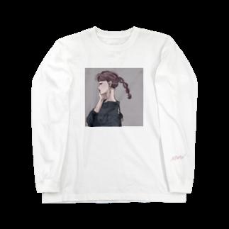 NINONのGirl2 Long sleeve T-shirts