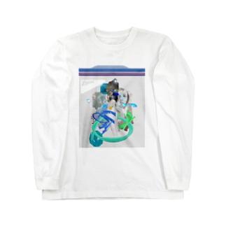 冷凍保存 Long sleeve T-shirts