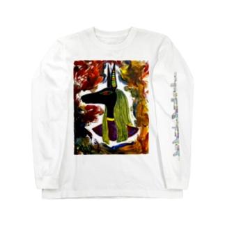 アヌビスT Long sleeve T-shirts
